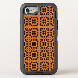Coque Otterbox Defender Pour iPhone 7 Motif d'or de nid d'abeilles