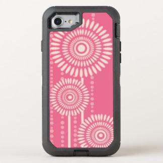 Coque Otterbox Defender Pour iPhone 7 Motif floral moderne rose