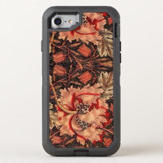 Coque Otterbox Defender Pour iPhone 7 Motif floral vintage de chèvrefeuille