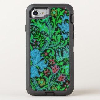 Coque Otterbox Defender Pour iPhone 7 Motif floral vintage de lis
