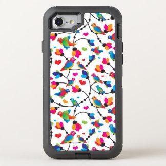 Coque Otterbox Defender Pour iPhone 7 oiseau coloré mignon de perroquet