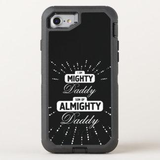 Coque Otterbox Defender Pour iPhone 7 Papa puissant de toute-puissant de papa