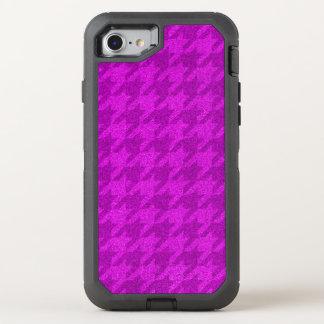 Coque Otterbox Defender Pour iPhone 7 pied-de-poule de scintillement (i) rose