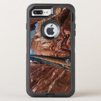 Coque Otterbox Defender Pour iPhone 7 Plus boucle de Navajo d'Arbre-dans-un-arbre au canyon