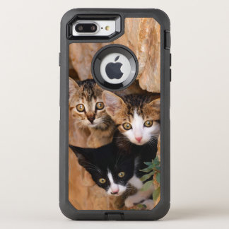 Coque Otterbox Defender Pour iPhone 7 Plus La photo curieuse mignonne d'animal familier de