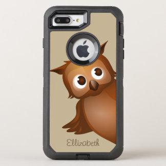 Coque Otterbox Defender Pour iPhone 7 Plus Monogramme drôle nommé fait sur commande mignon