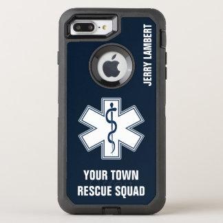 Coque Otterbox Defender Pour iPhone 7 Plus Nom et peloton d'infirmier d'EMT SME
