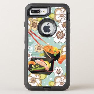 Coque Otterbox Defender Pour iPhone 7 Plus Nourriture japonaise : Motif 4 de sushi