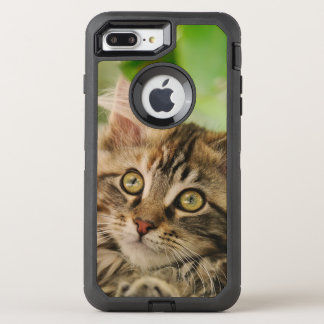 Coque Otterbox Defender Pour iPhone 7 Plus Photo mignonne d'animal familier de chaton de chat