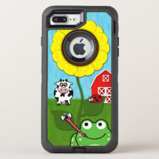 Coque Otterbox Defender Pour iPhone 7 Plus Printemps à la ferme