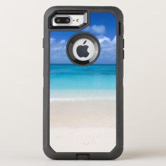 Coque Otterbox Defender Pour iPhone 7 Plus Turcs de la plage | et photo sous le vent de la