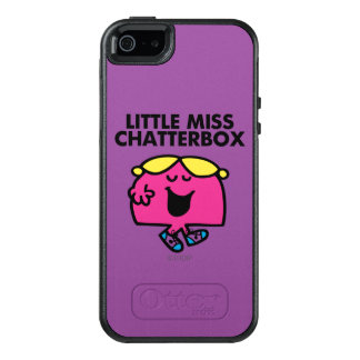 Coque OtterBox iPhone 5, 5s Et SE Causerie avec petite Mlle Chatterbox