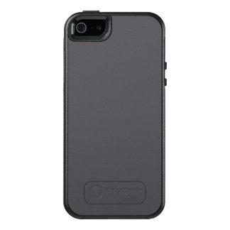 Coque OtterBox iPhone 5, 5s Et SE Couleur noircie de gris de perle