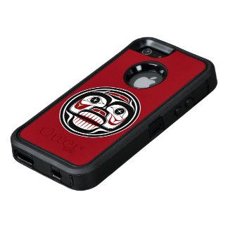 Coque OtterBox iPhone 5, 5s Et SE Crâne pleurant de Haida du nord-ouest de Côte