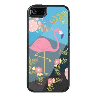 Coque OtterBox iPhone 5, 5s Et SE Flamant floral Girly rose mignon chic à la mode