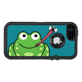 Coque OtterBox iPhone 5, 5s Et SE Grenouille et mouche drôles