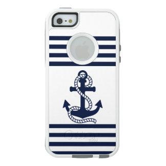 Coque OtterBox iPhone 5, 5s Et SE iPhone blanc bleu nautique SE/5/5s d'OtterBox