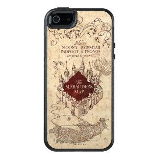 Coque OtterBox iPhone 5, 5s Et SE La carte du maraudeur du charme | de Harry Potter