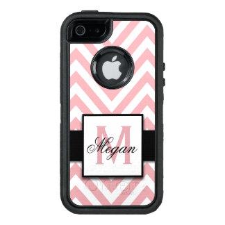 COQUE OtterBox iPhone 5, 5S ET SE  MOTIF ROSE DE CORAIL GIRLY ET PERSONNALISÉ DE