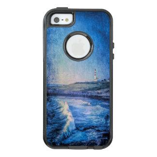 Coque OtterBox iPhone 5, 5s Et SE Phare et ressacs bleus