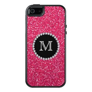 Coque OtterBox iPhone 5, 5s Et SE Scintillement rose, diamant, Girly, décoré d'un