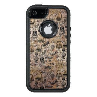 Coque OtterBox iPhone 5, 5s Et SE Steampunk vintage