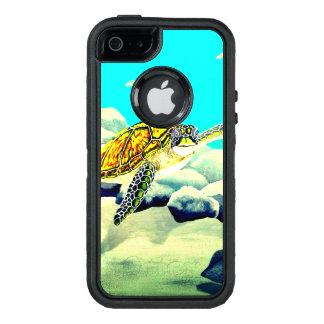 Coque OtterBox iPhone 5, 5s Et SE Tortue de mer peignant la belle mer bleue