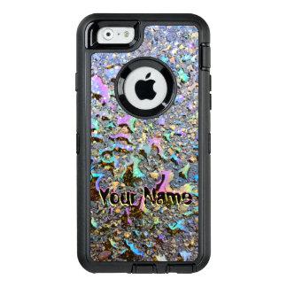 Coque OtterBox iPhone 6/6s Baisses d'huile avec des réflexions et le nom