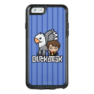 Coque OtterBox iPhone 6/6s Bande dessinée Harry Potter et Buckbeak