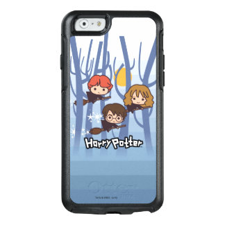 Coque OtterBox iPhone 6/6s Bande dessinée Harry, Ron, et vol de Hermione en