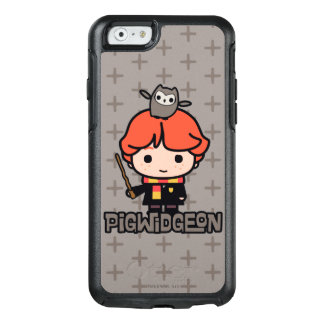 Coque OtterBox iPhone 6/6s Bande dessinée Ron Weasley et Pigwidgeon