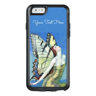 Coque OtterBox iPhone 6/6s Belle robe féerique d'or d'ailes de papillon de
