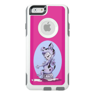 Coque OtterBox iPhone 6/6s Blanc de CS de l'iPhone 6/6s de MLLE KITTY CARTOON