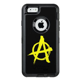 Coque OtterBox iPhone 6/6s Boîte de loutre d'iPhone d'Anarcho-Capitaliste