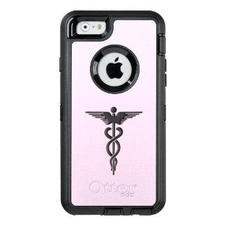 Coque OtterBox iPhone 6/6s Caducée médical argenté
