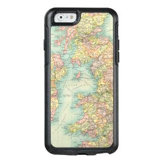 Coque OtterBox iPhone 6/6s Carte politique d'îles britanniques