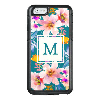 Coque OtterBox iPhone 6/6s Cas floral de l'iPhone 6/6s d'Otterbox de