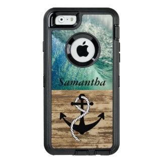 Coque OtterBox iPhone 6/6s Cas nautique rustique de ressac