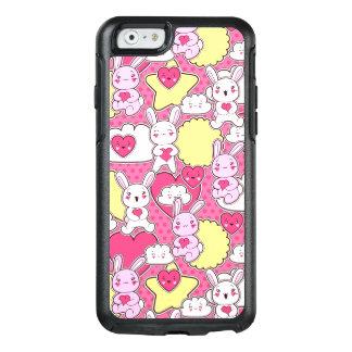 Coque OtterBox iPhone 6/6s Cas rose mignon de l'iPhone 6/6s d'OtterBox de