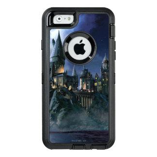Coque OtterBox iPhone 6/6s Château | Hogwarts éclairé par la lune de Harry