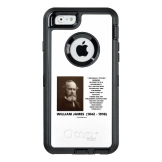 Coque OtterBox iPhone 6/6s Citation de William James de philosophie de