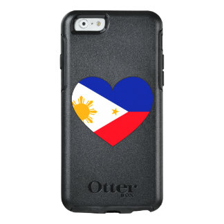Coque OtterBox iPhone 6/6s Coeur de drapeau de Philippines