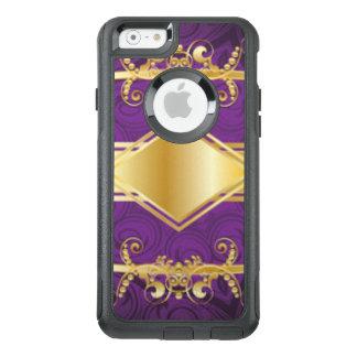 Coque OtterBox iPhone 6/6s Conception d'impression de motif de pourpre royal
