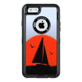 Coque OtterBox iPhone 6/6s Coucher du soleil de voilier