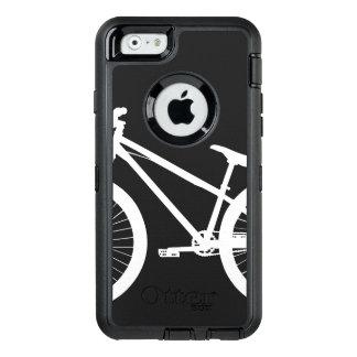 Coque OtterBox iPhone 6/6s Couleur blanche de coutume de silhouette de vélo