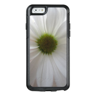 Coque OtterBox iPhone 6/6s Coutume chic Girly de fleur blanche