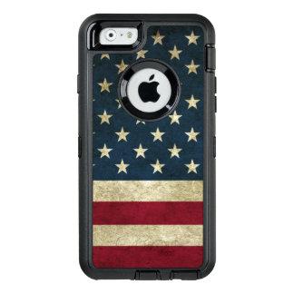 Coque OtterBox iPhone 6/6s couvre l'état uni par drapeau de l'iphone 6