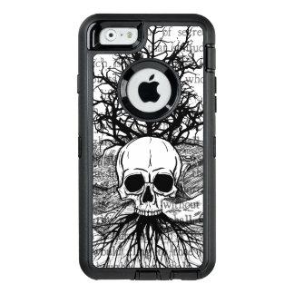 Coque OtterBox iPhone 6/6s Crâne et livres