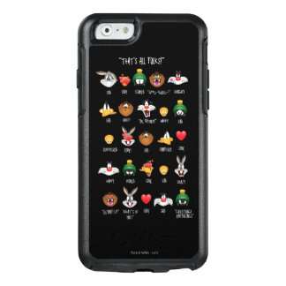 Coque OtterBox iPhone 6/6s Diagramme LOONEY de TUNES™ Emoji