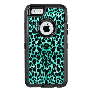 Coque OtterBox iPhone 6/6s Empreinte de léopard en bon état de puce